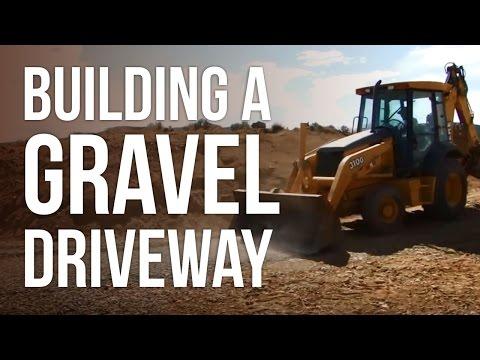 Building a Gravel Driveway