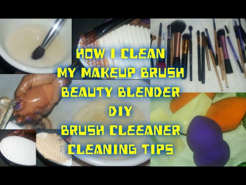 DIY Affordable Makeup Brush Cleaner| How To Clean Makeup Brushes & Beauty Blender| Beauty Infinite