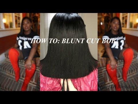 HOW TO: BLUNT CUT BOB