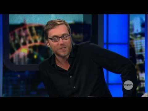 Stephen Merchant interview on The Project (2012)