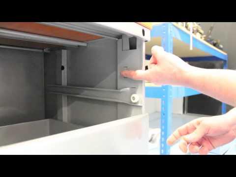 Replacing a Metal Pedestal Lock