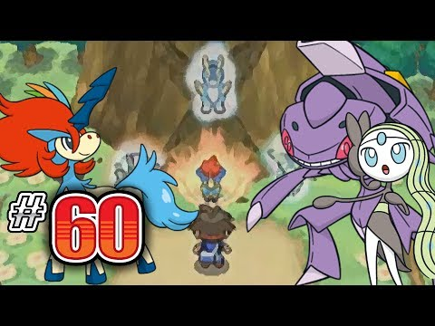 Let's Play Pokemon: White 2 - Part 60 - Meloetta, Keldeo, Genesect