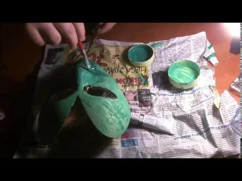 How to make Medusa mask