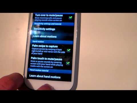 Galaxy S3 Snapchat Screenshot