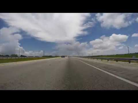 Fort Lauderdale to Key West in 1 Minute 20 Seconds - Timelapse