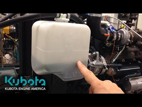 Why checking your engine's coolant level is so important | Kubota Engine America