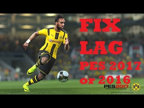 Fix Lag in PES 2017/2016 (FINAL) | New Anti-lag Update | Run PES