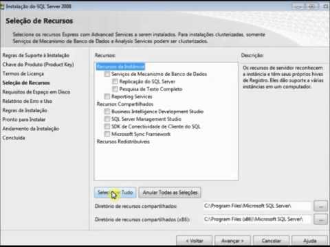Intellectuale - Instalação SQL Server 2008 Express