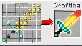 CREATING THE WORLD'S STRONGEST MINECRAFT WEAPON!