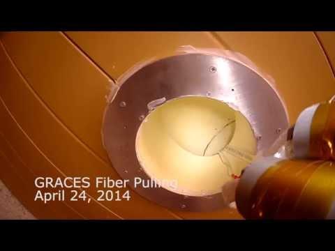 GRACES fiber installation 2014