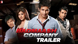 Badmaash Company - Trailer with English Subtitles | Shahid Kapoor | Anushka Sharma