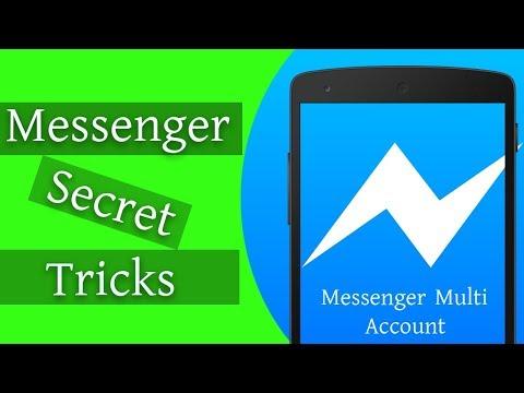 Messenger Secret Tricks! Multi Facebook Account Login On Messenger