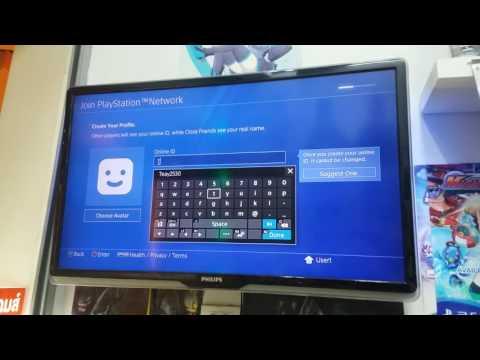 วิธีสมัคร PlayStation Store PS4