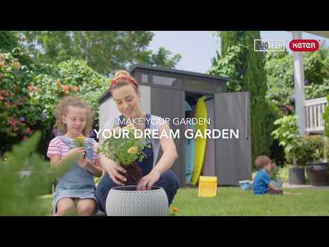 Keter DUOTECH sheds & outdoor storage products for a beautiful garden