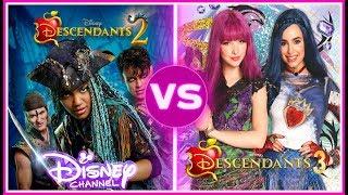 Descendants 2 VS Descendants 3 Musically Battle | If You Love Disney Descendants You Must watch!