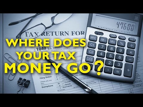 Where does your tax money go ?