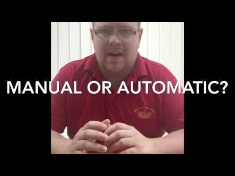Driving Lessons - Automatic Vs Manual