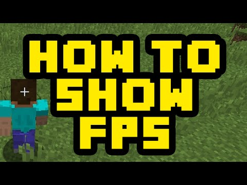 How To Show Your FPS In Minecraft 2017 - How To See Your Frames Per Second In Minecraft Tutorial