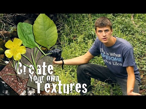 How to Create Textures From Scratch!