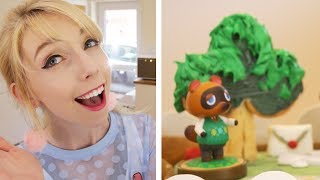 little animal crossing cake