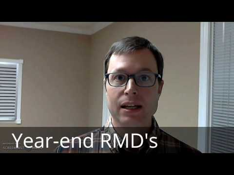 Year-end investment, income and tax planning - RMD