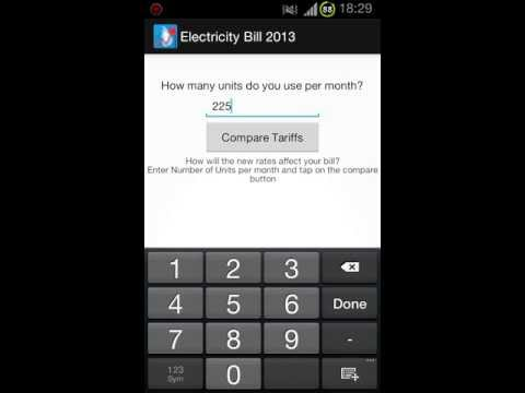 Android App Update v1.51 : Lanka Electricity Bill 2013 - Indepth analysis