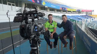 T20 World Cup Qualifier: Fun and games on media day!