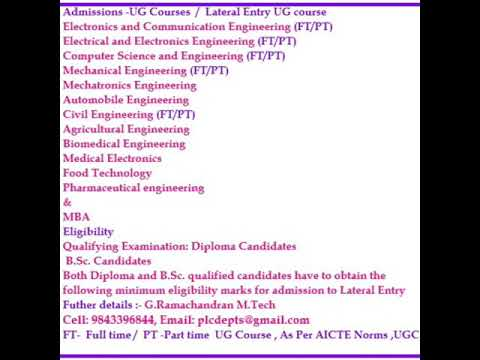 Career Guidance | Engineering | After 12th | Professional Courses in Tamilnadu
