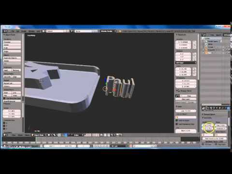 How To Make a Custom iPhone Case on Blender