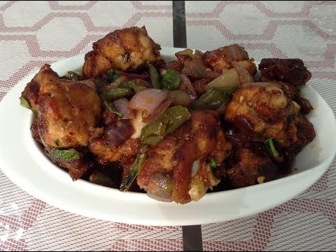 ചില്ലി ചിക്കന് / easy chilli chicken recipe
