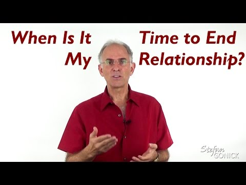 When Is It Time to End My Relationship? - EFT Love Talk Q&A Show