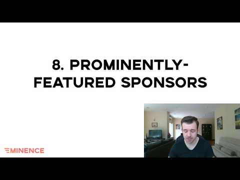 How to feature your podcast's sponsors (Podcast Website Checklist Step 8)