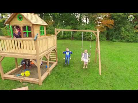AXI -  Wooden Playhouse Liam (and swings)
