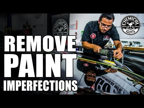 How To Remove Imperfections From Black Paint - Chemical Guys Car Care