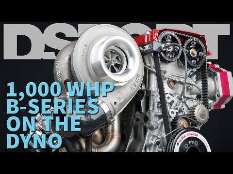 1,000+ Horsepower B-Series on the Dyno  |  DSPORT Magazine