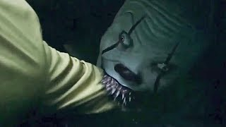 IT 2017 - Pennywise Scares Georgie - IT Opening Scene FULL I Georgie