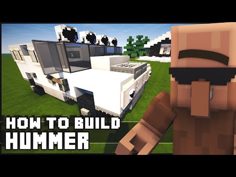 ► Minecraft : How to Make - Hummer / Humvee