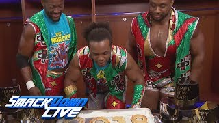 The New Day ring in the new year with a surprise for Xavier Woods: SmackDown LIVE, Jan. 2, 2018