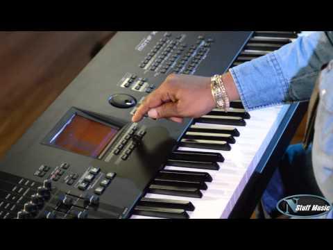 How to connect Yamaha Motif XF to iPad wireless - Yamaha