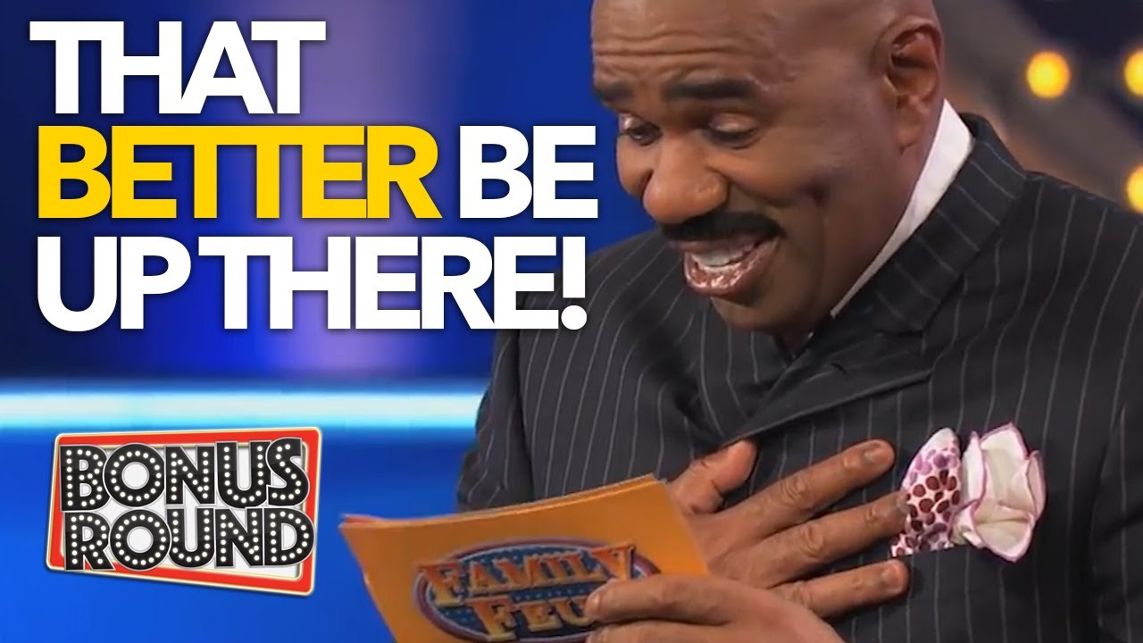 25 MOST LOVED FAMILY FEUD ANSWERS & ROUNDS With Steve Harvey! MUST WATCH!