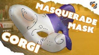 Corgi Dog Masquerade Mask - One Day Build with Domestic Dan