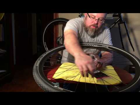 Installing a Disc Brake Rotor on a Bicycle
