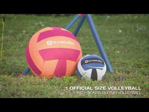 Outbound Easy Setup Volleyball / Badminton Set