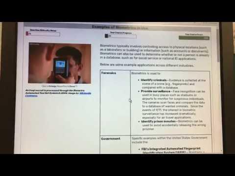 Continuing Education: Intro to Biometrics