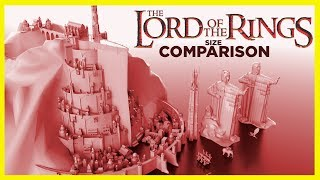 ⚔️ The Lord of The Rings   Real Scale in 3D ⚔️