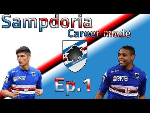 'The Italian job' Sampdoria career mode Fifa 15 Ep.1
