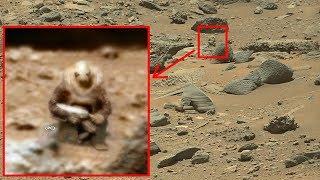 La NASA scatta foto ad un Alieno su Marte !!!