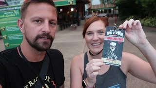 Her First Trip To Howl-O-Scream 2018 At Busch Gardens Tampa! | Fright Feast, House Reviews & More!