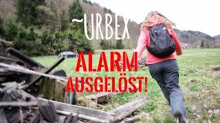 LOST PLACES | ALARM AUSGELÖST! / urbex gone wrong - Urban Exploring Germany