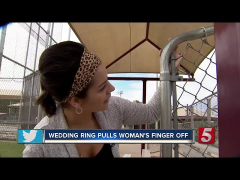 Woman Loses Finger When Wedding Ring Gets Caught On Fence
